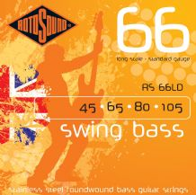Rotosound RS66LD Swing Bass Standard Gauge Strings